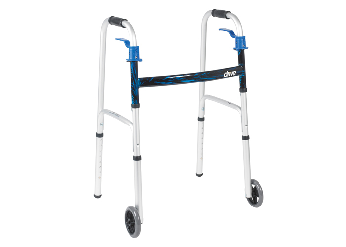 Folding Walker with Wheels